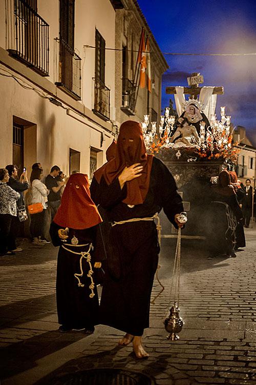 Procesión de la Hermandad Sacramental del Stmo Cristo de los Desamparados y María Stma de las Angustias175 - Web ALS