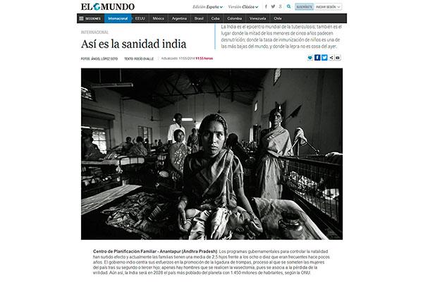 EL MUNDO - Sanidad en India WEB ALS