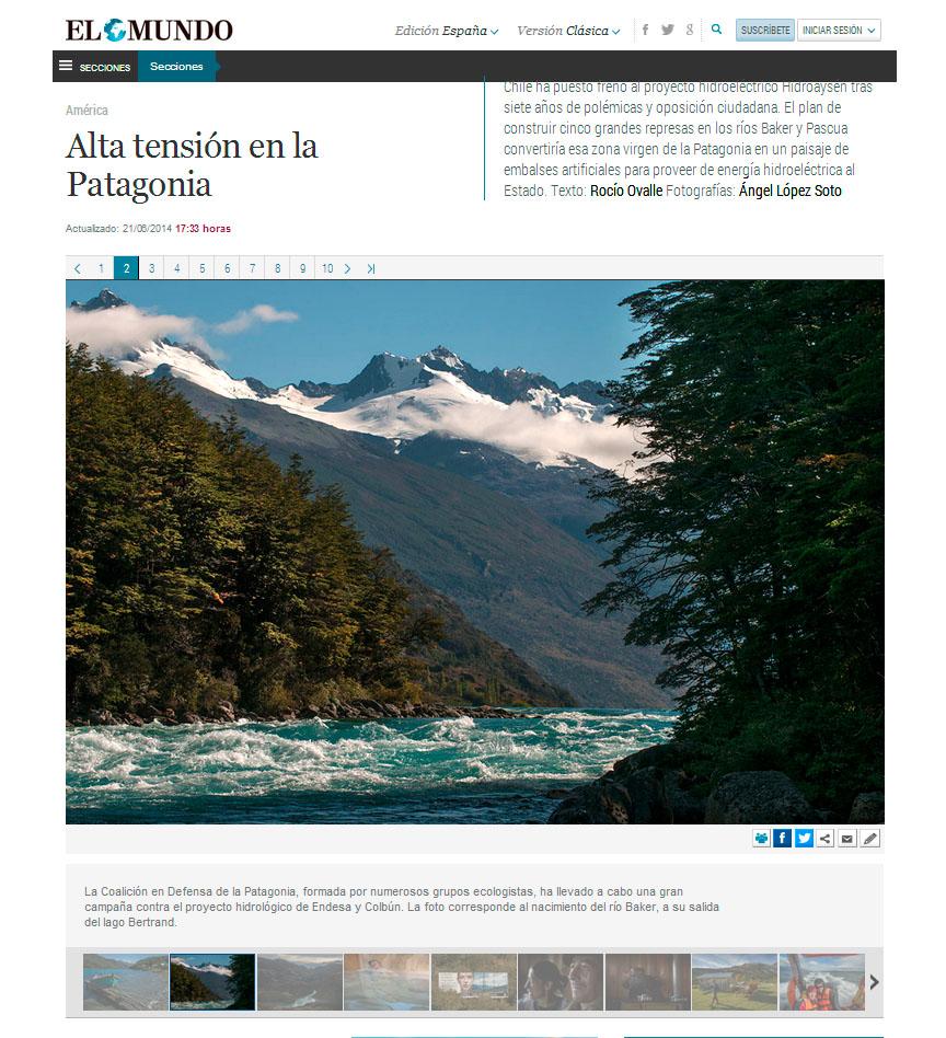 Alta Tensión en la Patagonia