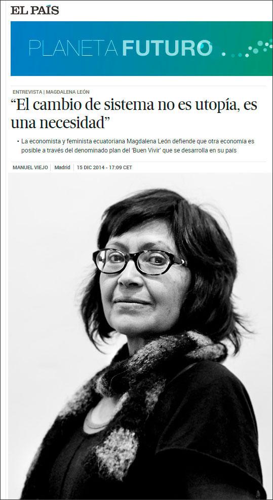 Magdalena León Trujillo - Planeta Futuro II